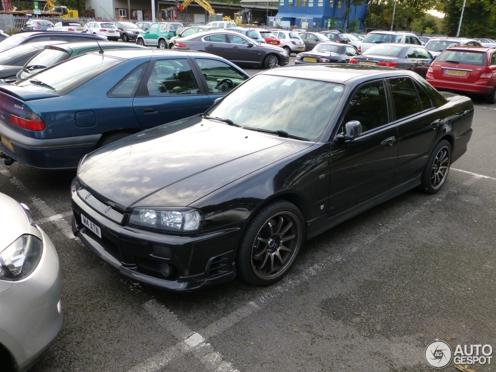 Nissan Skyline R34 Sedan 20 October 2012 Autogespot