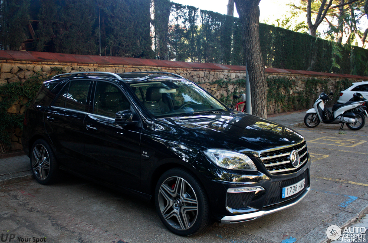 mercedes benz ml 63 amg w166 1 novembre 2012 autogespot. Black Bedroom Furniture Sets. Home Design Ideas