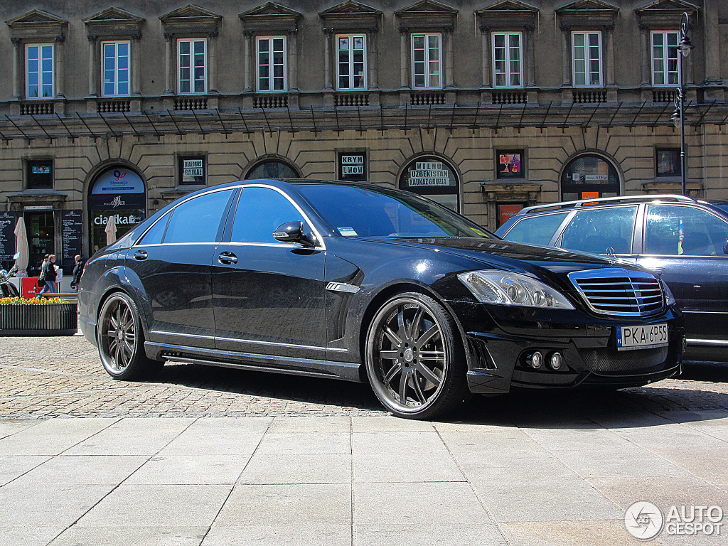 Mercedes benz wald s 63 amg w221 1 november 2012 for Mercedes benz w221 price