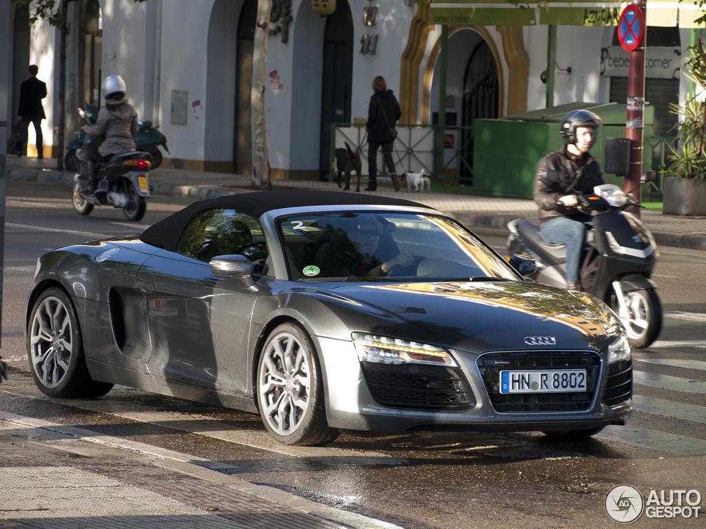 Audi R8 V8 Spyder 2013 10 November 2012 Autogespot