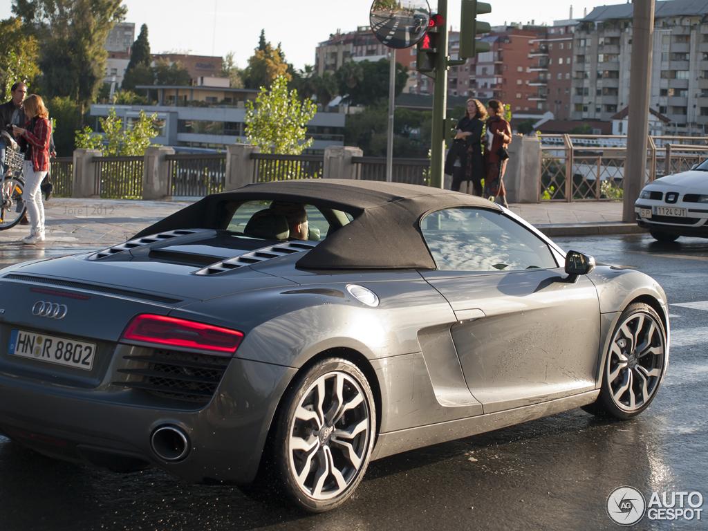 Audi r8 spyder precio mexico