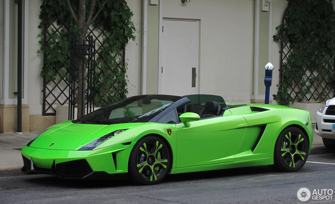 Rear-Drive 2012 Lamborghini Gallardo LP550-2 Spyder ... |Lamborghini Gallardo Spyder 2012