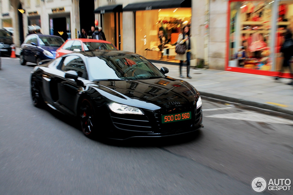 audi r8 v10 hyper black edition 12 novembre 2012 autogespot. Black Bedroom Furniture Sets. Home Design Ideas