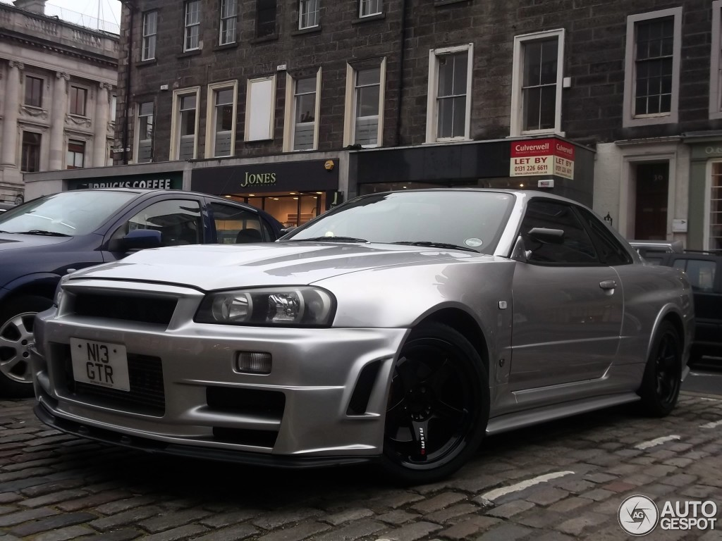 nissan skyline r34 gt r nismo z tune 13 november 2012 autogespot. Black Bedroom Furniture Sets. Home Design Ideas