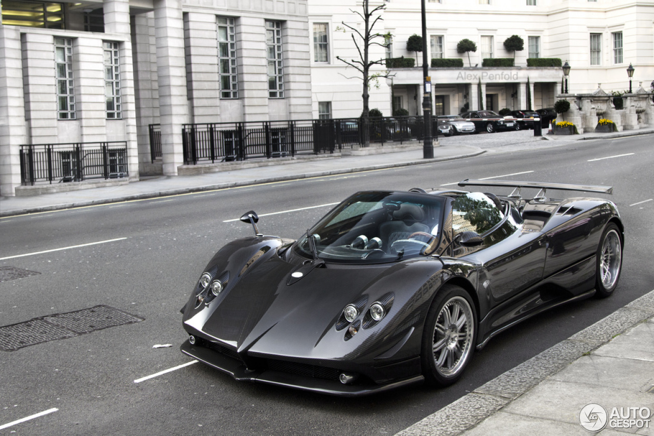 pagani zonda c12 f roadster 13 november 2012 autogespot. Black Bedroom Furniture Sets. Home Design Ideas