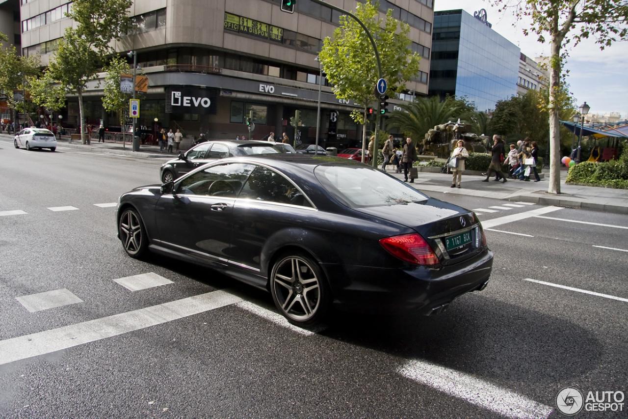 Mercedes benz cl 63 amg c216 2011 14 november 2012 for 2012 mercedes benz cl63 amg