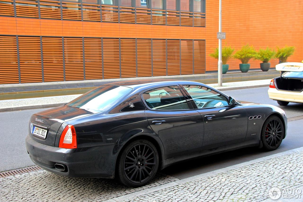 Maserati Quattroporte Sport Gt S 2009 15 November 2012