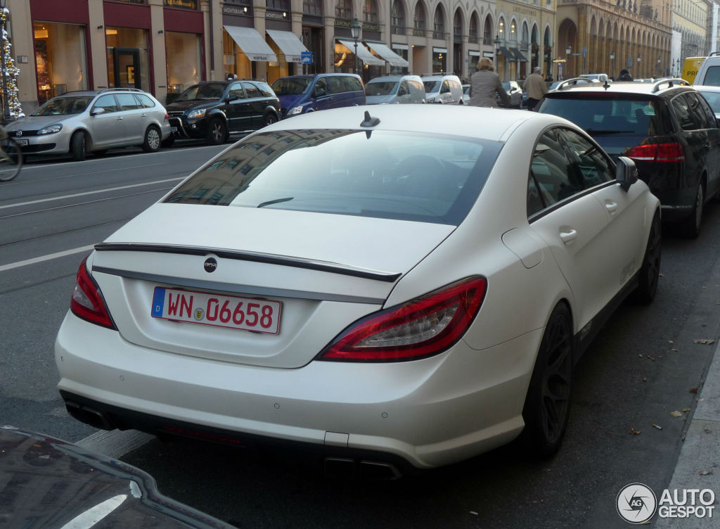 Mercedes Benz Cls 63 Amg C218 Gad Motors 15 November 2012 Autogespot