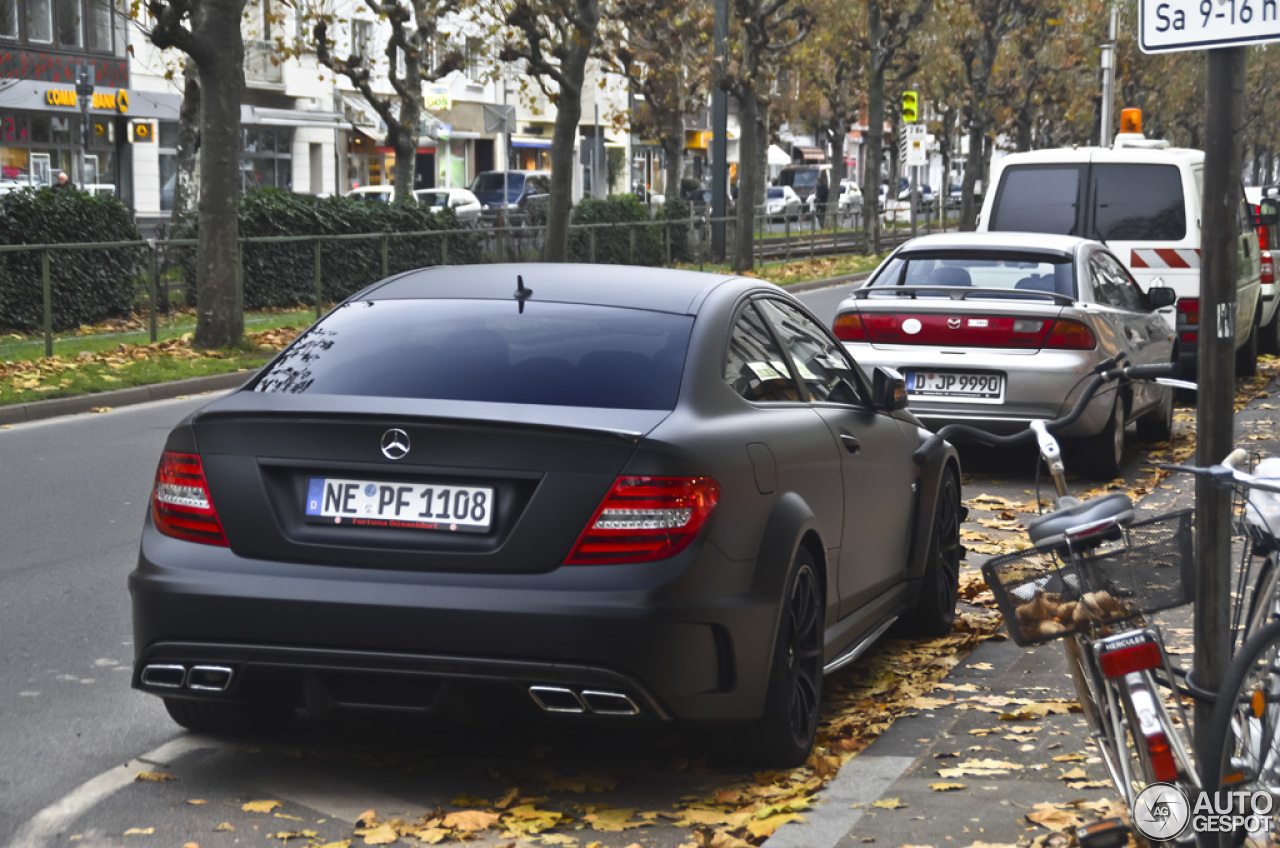 Mercedes Benz C 63 Amg Coup 233 Black Series 18 November