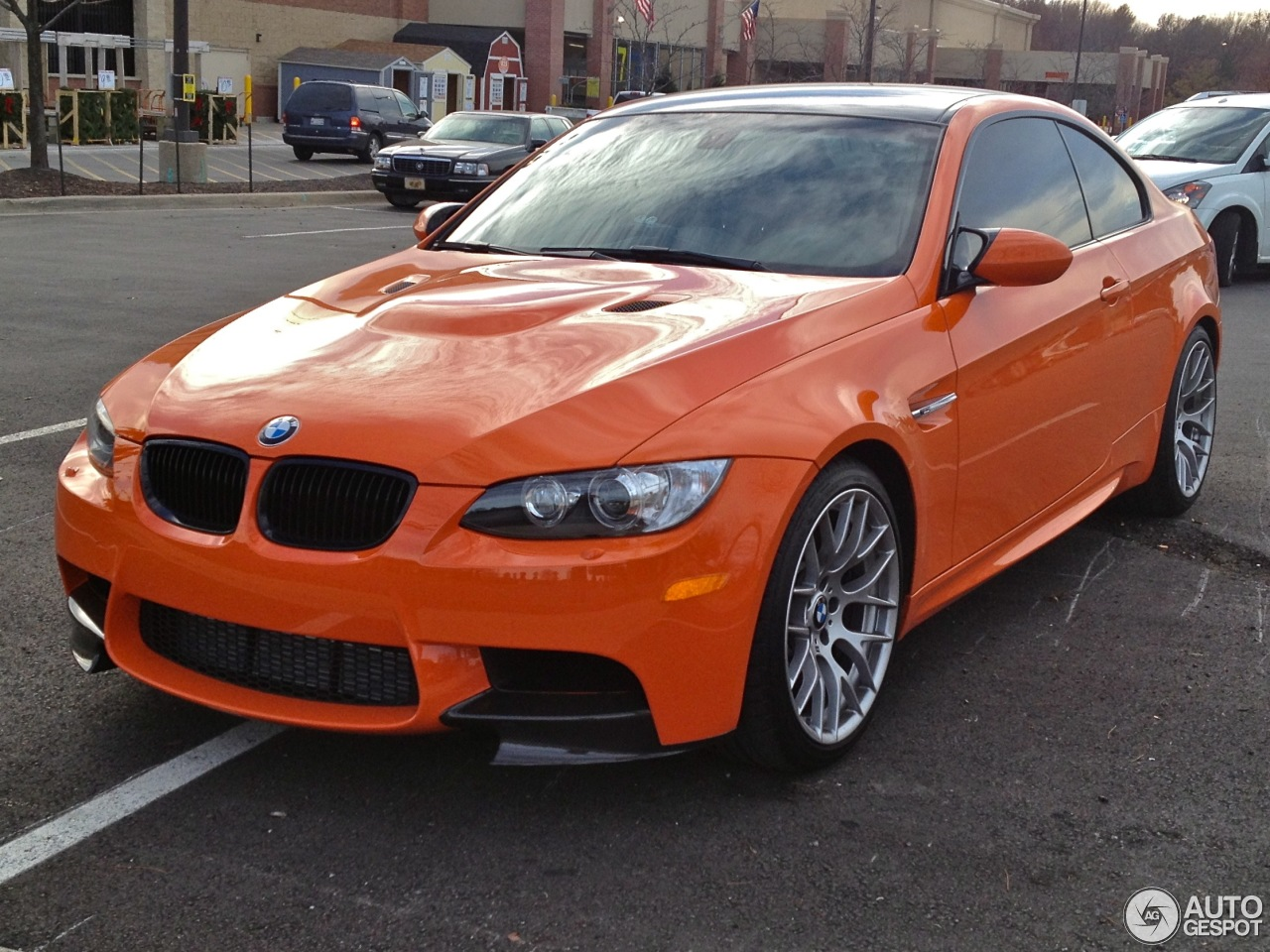 Bmw M3 E92 Lime Rock Park Edition 20 November 2012