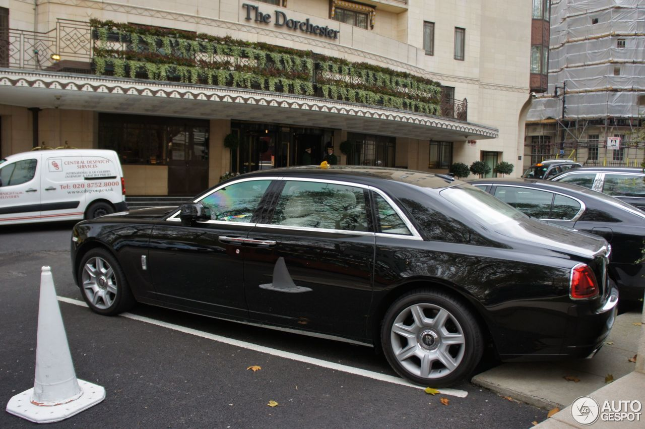 rolls royce ghost ewb 20 november 2012 autogespot. Black Bedroom Furniture Sets. Home Design Ideas