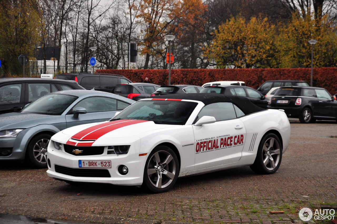 Chevrolet Camaro SS Convertible Indy 500 Pace Car - 23 November 2012 - Autogespot