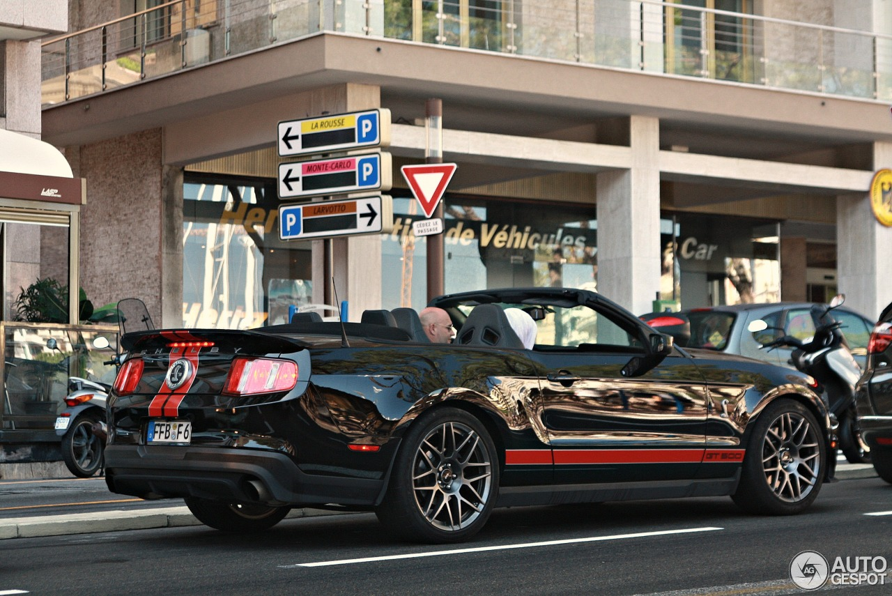 Ford Mustang Shelby Gt500 Convertible 2010 25 Novembre