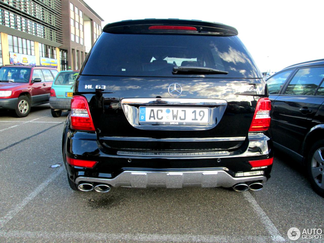 Mercedes benz ml 63 amg w164 2009 26 november 2012 for 2009 mercedes benz suv