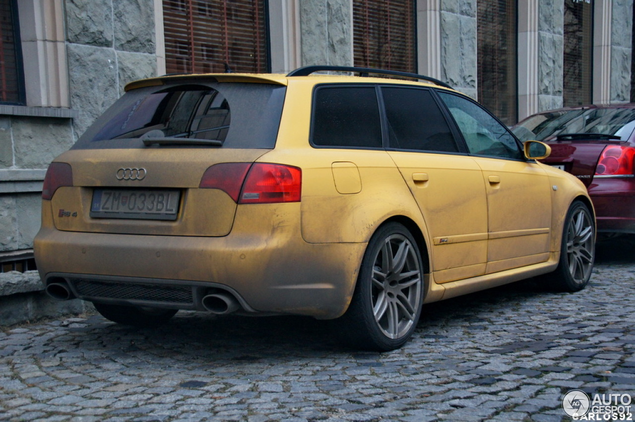 audi rs4 avant b7 30 novembre 2012 autogespot. Black Bedroom Furniture Sets. Home Design Ideas