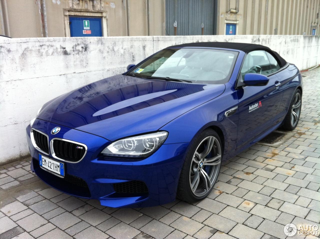 Bmw M6 F12 Cabriolet 30 Novembre 2012 Autogespot