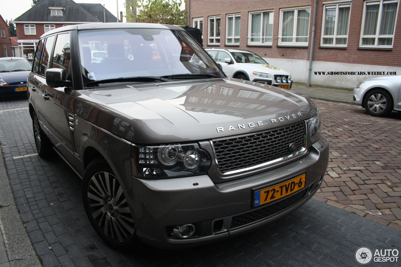 Land Rover Range Rover Autobiography Supercharged Ultimate Edition ...