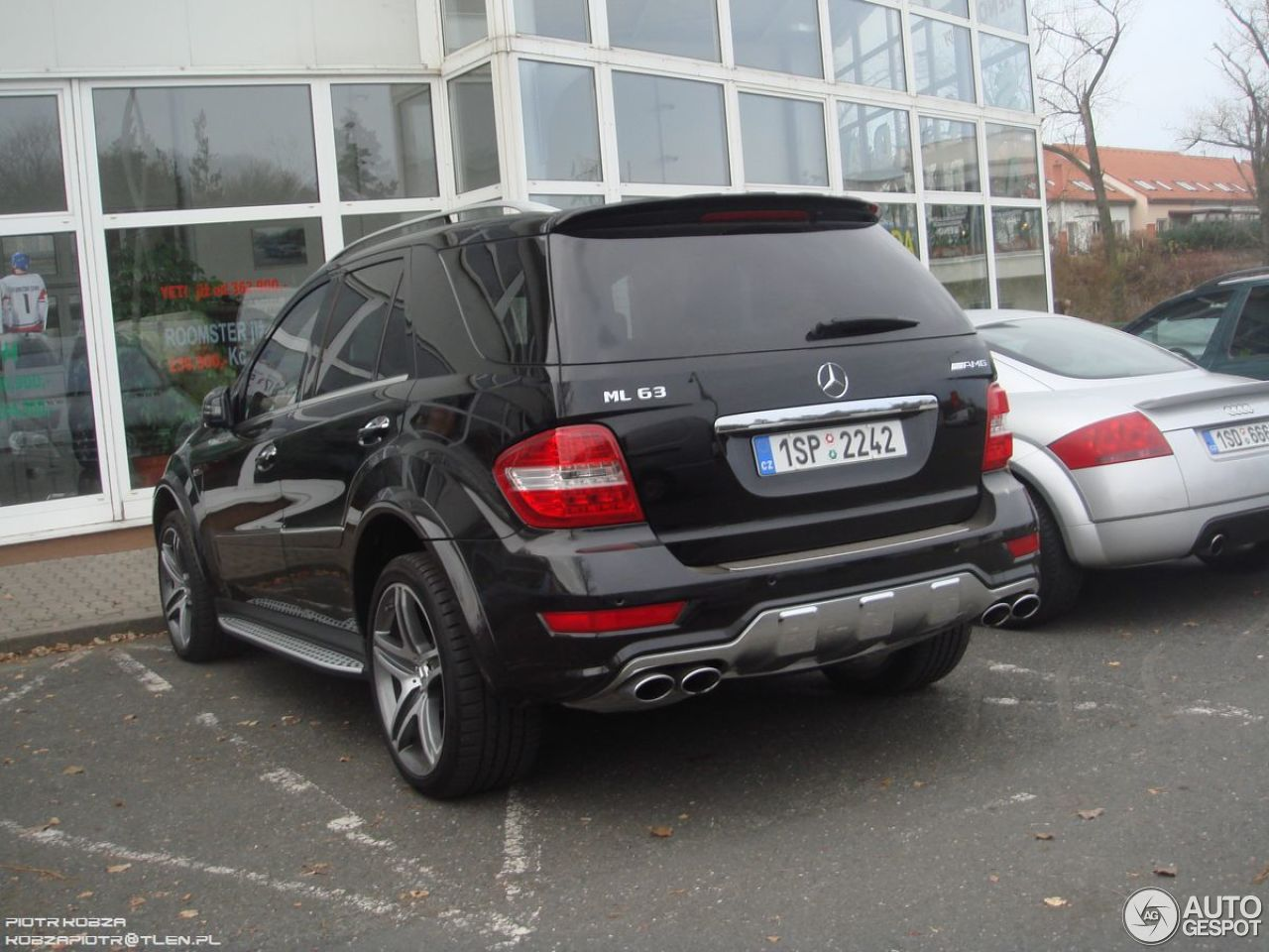 Mercedes benz ml 63 amg w164 2009 1 december 2012 for Mercedes benz 2009 for sale