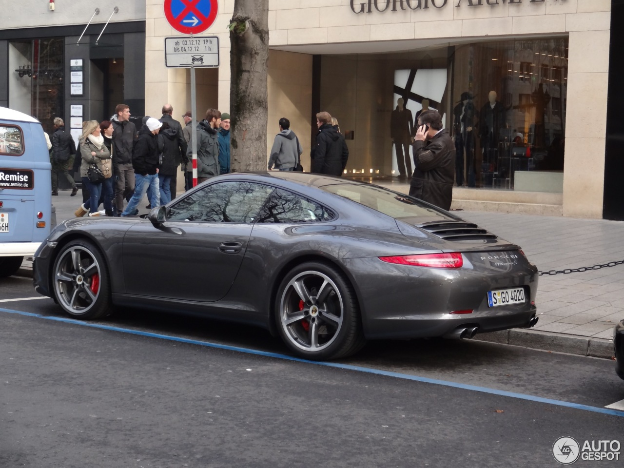Porsche 991 Carrera S 1 December 2012 Autogespot