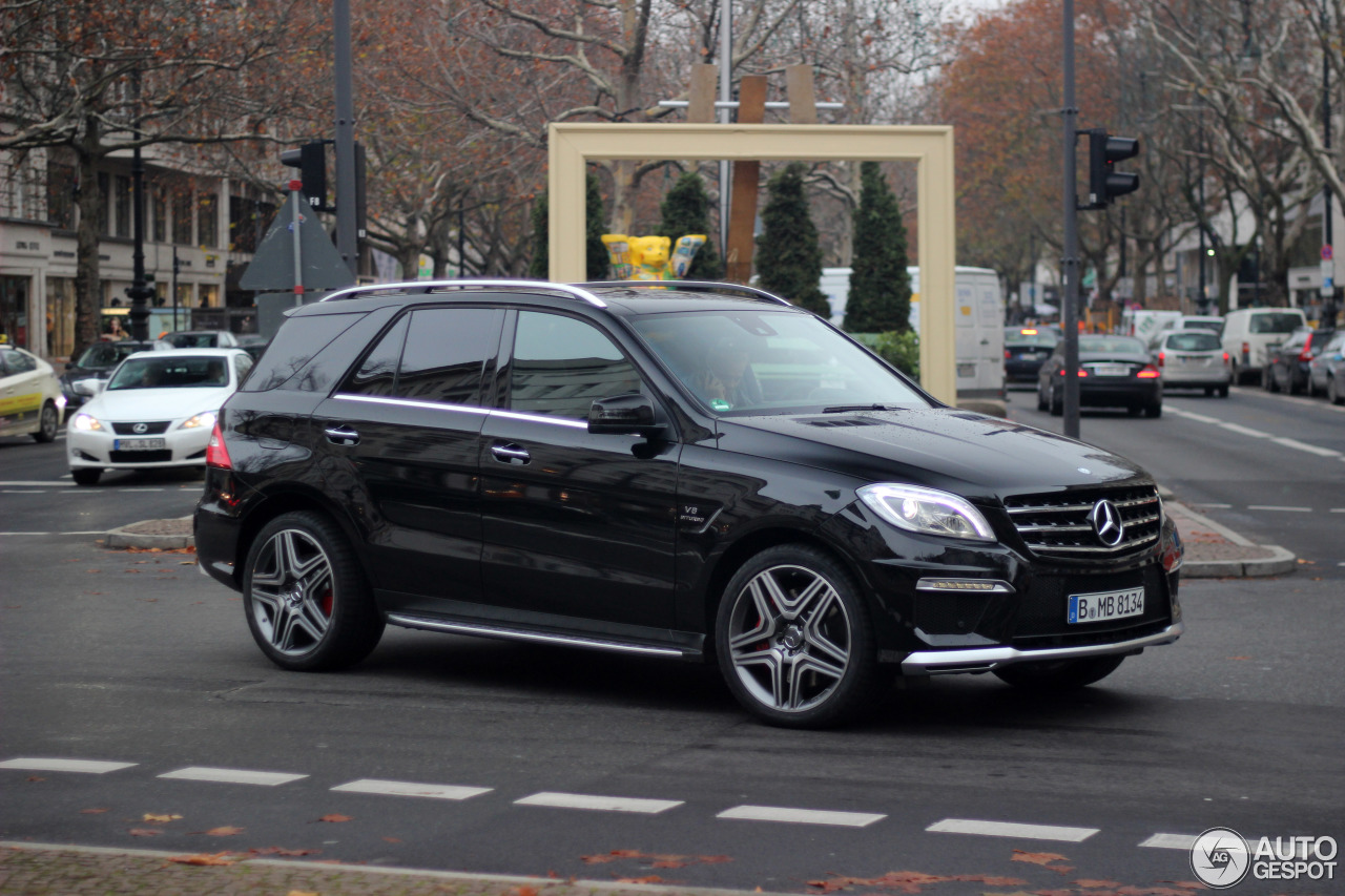 mercedes benz ml 63 amg w166 2 december 2012 autogespot. Black Bedroom Furniture Sets. Home Design Ideas