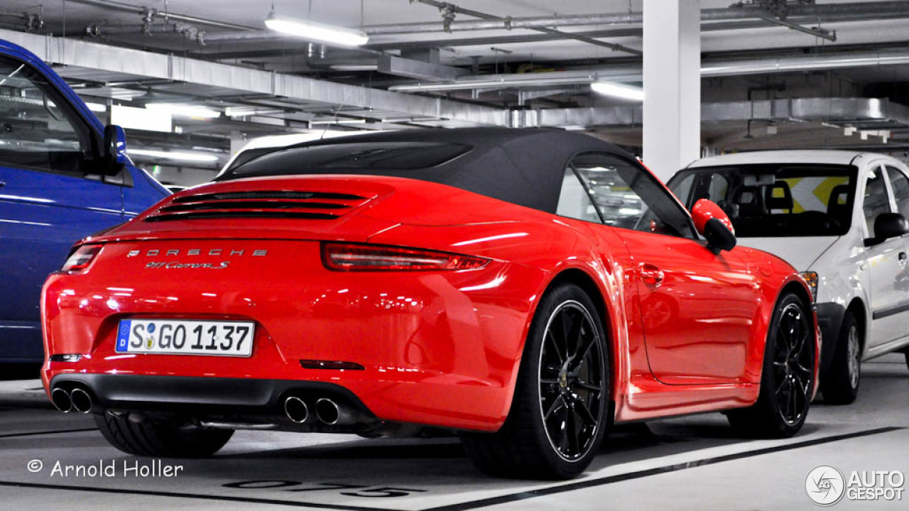 porsche 991 carrera s cabriolet 4 december 2012 autogespot. Black Bedroom Furniture Sets. Home Design Ideas