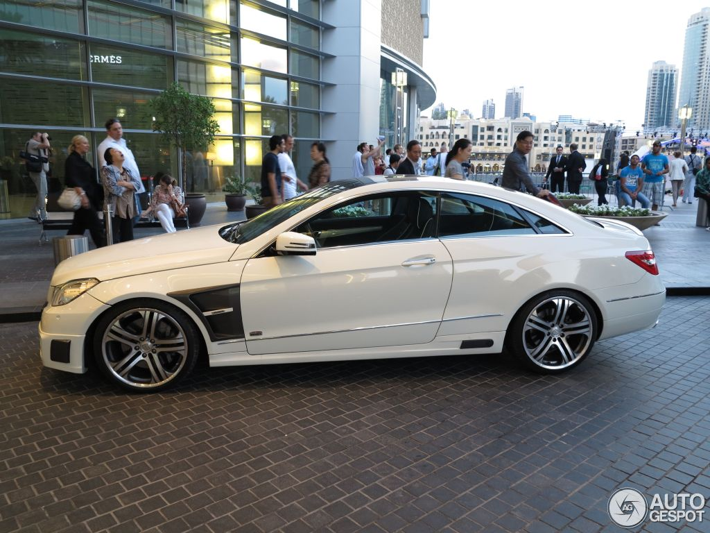 Mercedes Benz Brabus E 6 1 Coup 5 December 2012