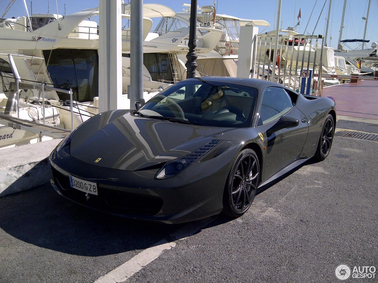 Ferrari 458 italia 9 december 2012 autogespot vanachro Image collections