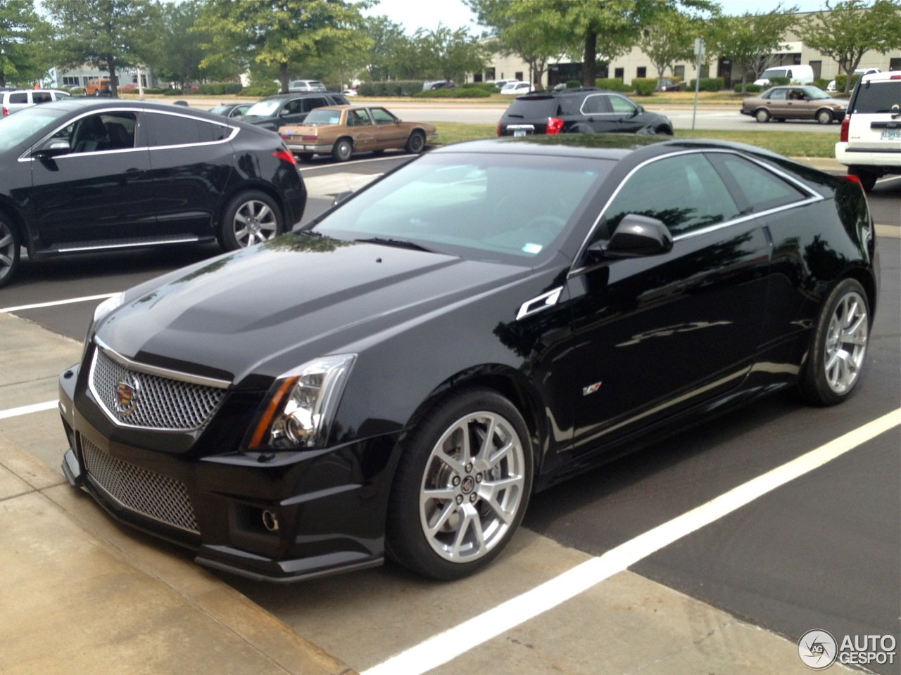 cadillac cts v coup 11 december 2012 autogespot. Black Bedroom Furniture Sets. Home Design Ideas