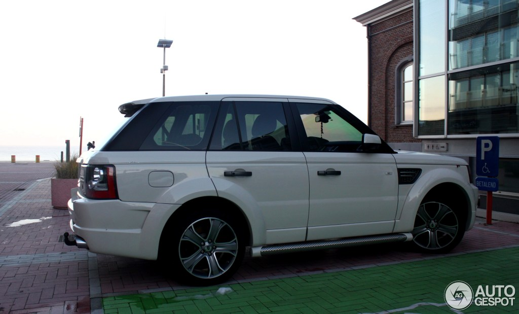 Land Rover Arden Range Rover Sport Supercharged  11 December 2012