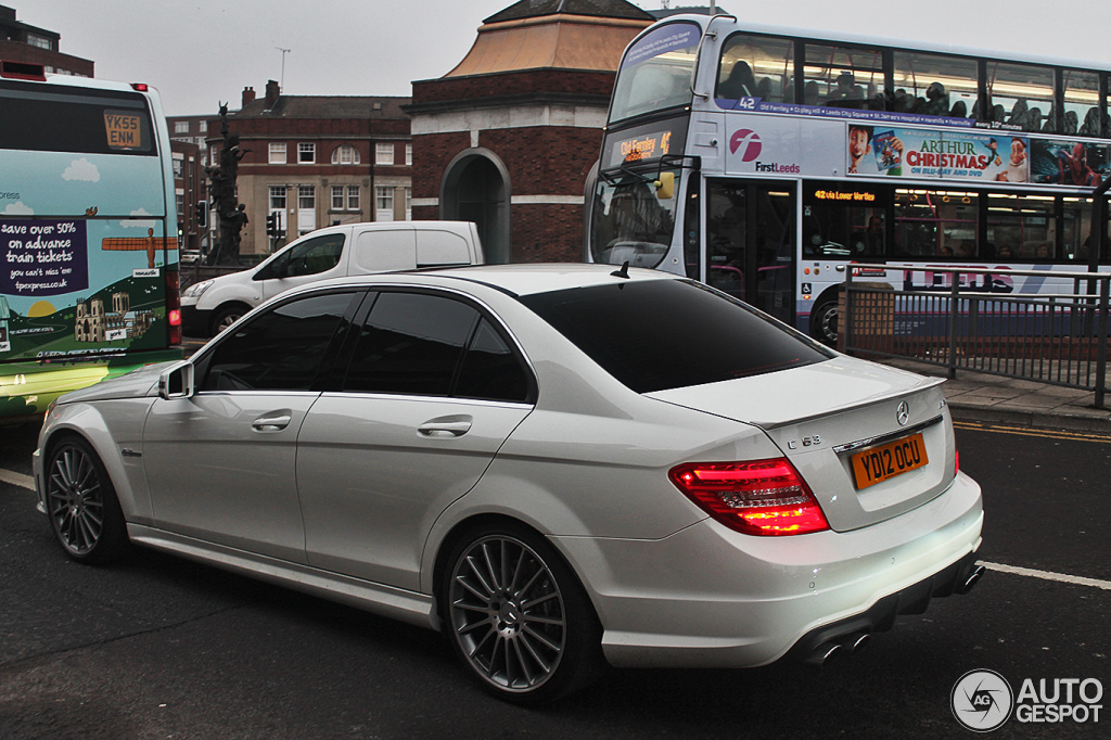 Mercedes Benz C 63 Amg W204 2012 12 December 2012 Autogespot