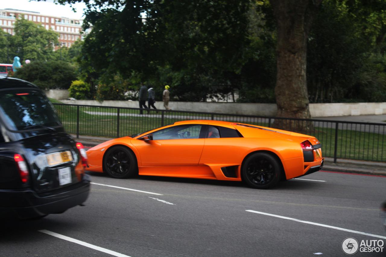Orange Lamborghini Murcielago Lp640