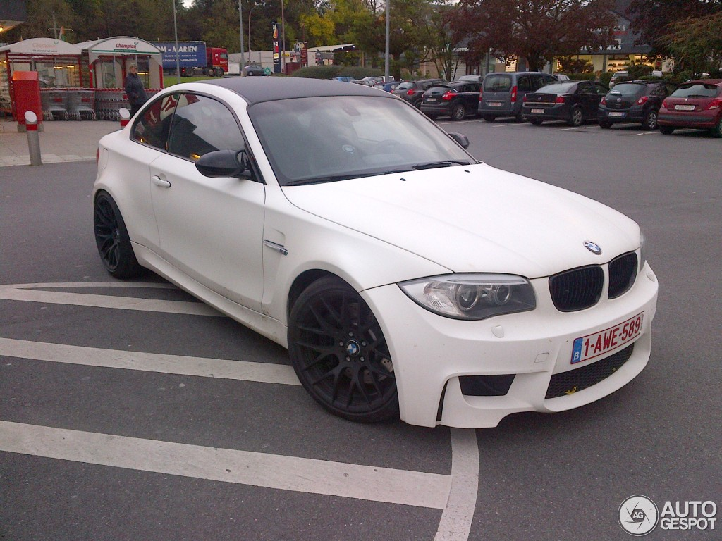 bmw 1 series m coupé - 15 december 2012 - autogespot