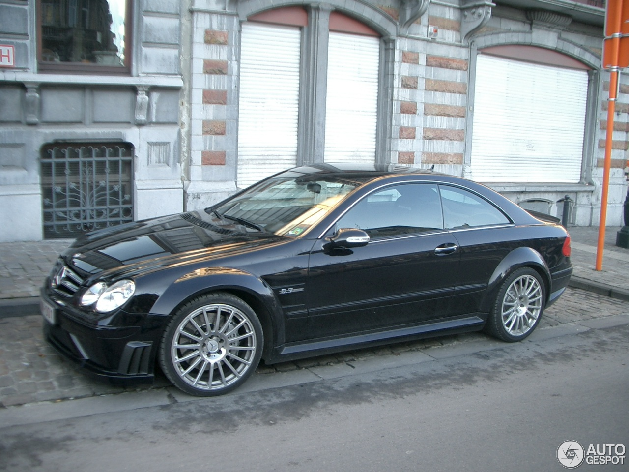 Mercedes benz clk 63 amg black series 18 december 2012 for Mercedes benz clk 2012