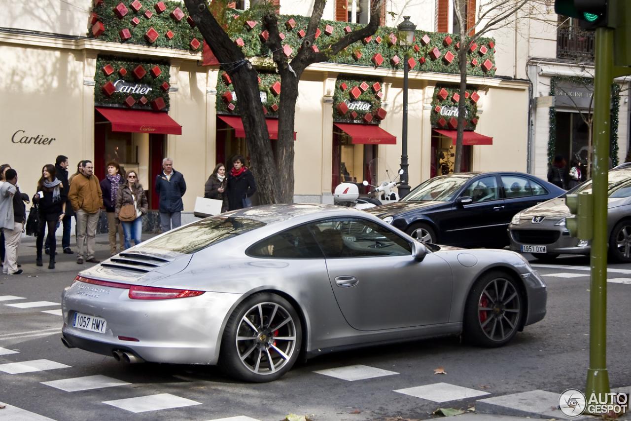 Porsche 991 Carrera 4s 18 December 2012 Autogespot