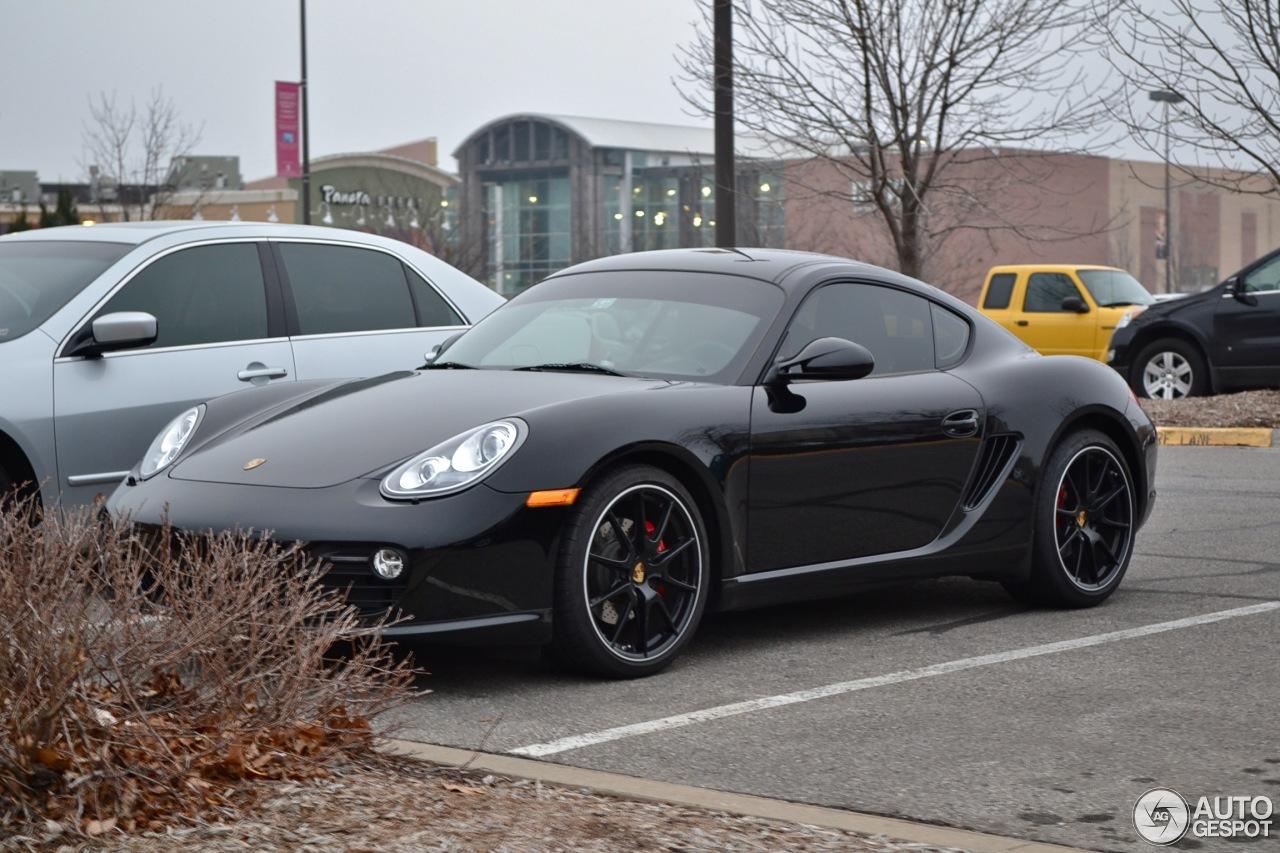 Porsche Cayman S Mkii Black Edition 19 December 2012