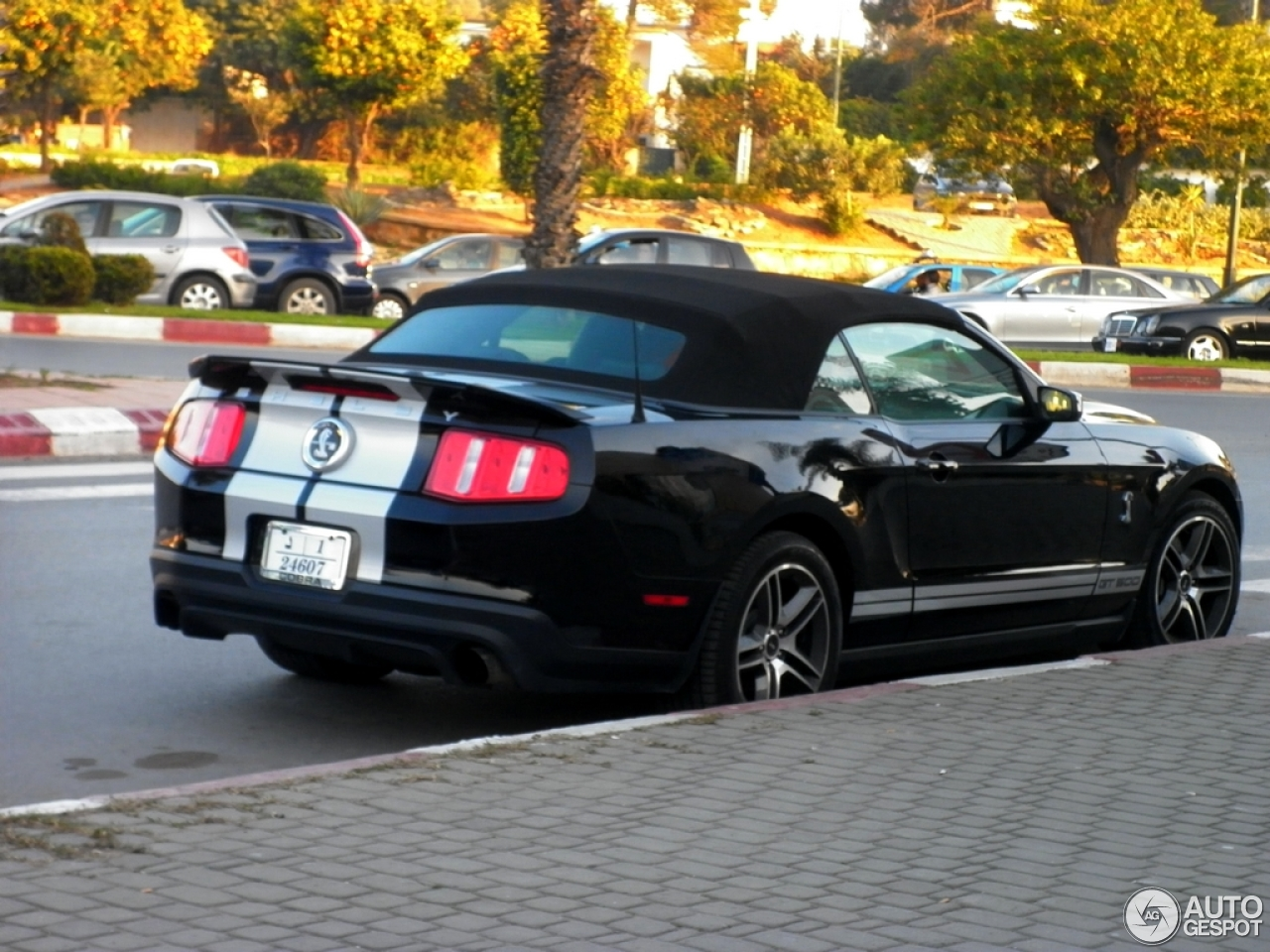 ford mustang shelby gt500 convertible 2010 21 december. Black Bedroom Furniture Sets. Home Design Ideas