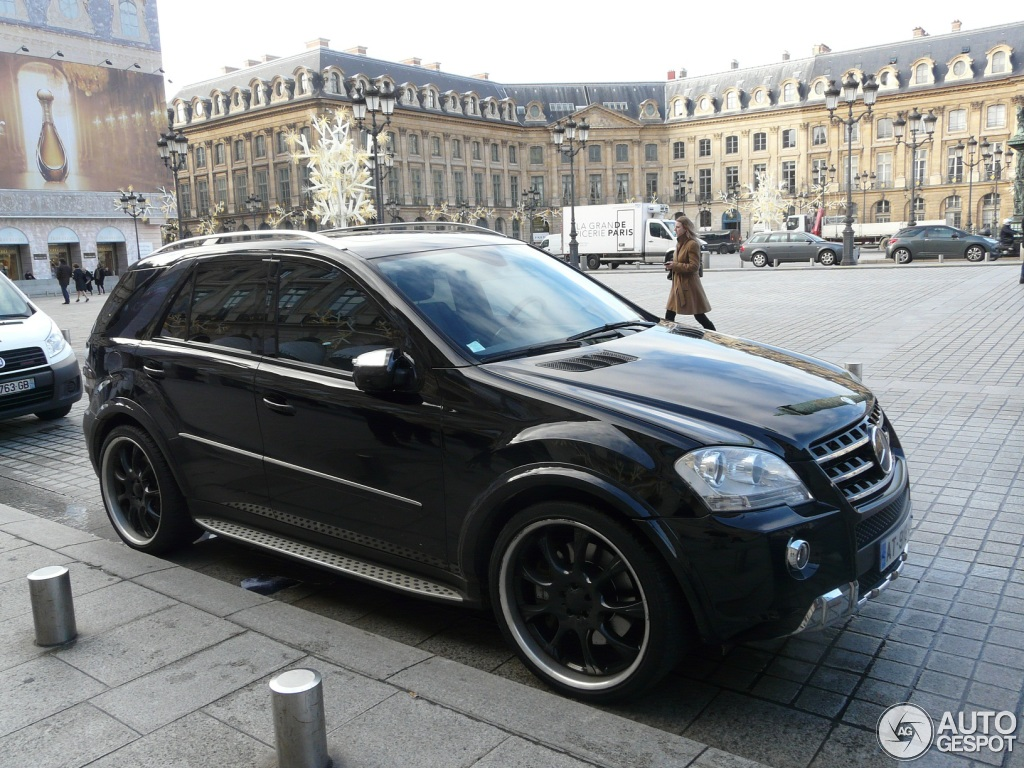 mercedes benz ml 63 amg w164 2009 21 december 2012. Black Bedroom Furniture Sets. Home Design Ideas
