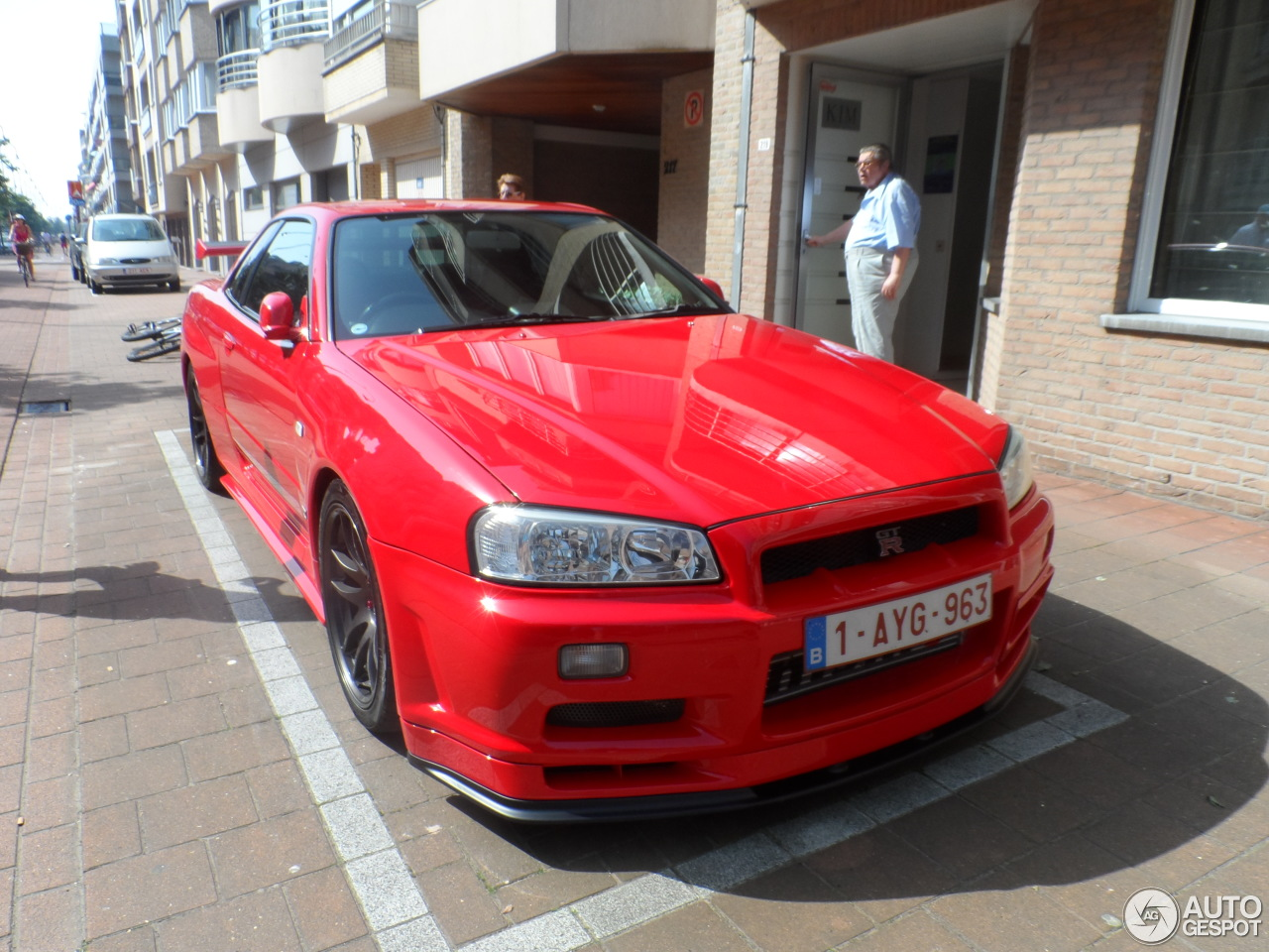 nissan skyline r34 gt r 22 dcembre 2012 autogespot. Black Bedroom Furniture Sets. Home Design Ideas