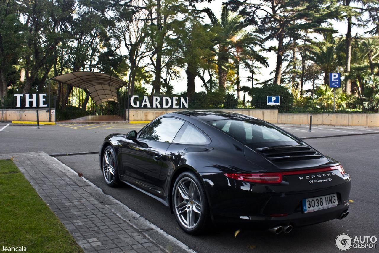 Porsche 991 Carrera S Black