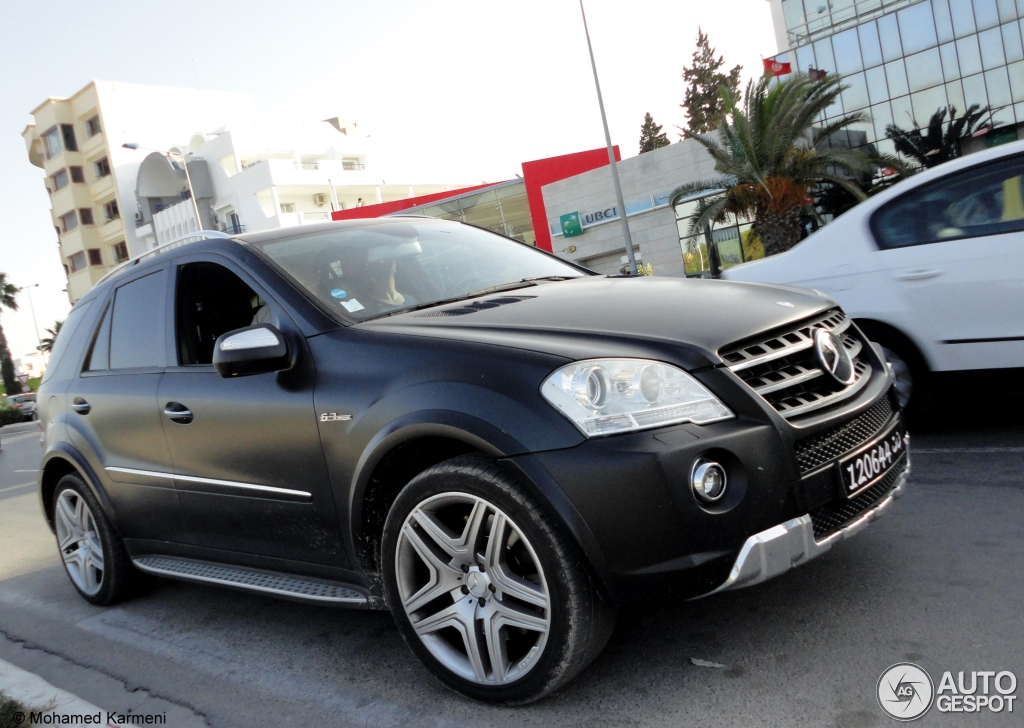 mercedes benz ml 63 amg w164 2009 24 december 2012 autogespot. Black Bedroom Furniture Sets. Home Design Ideas