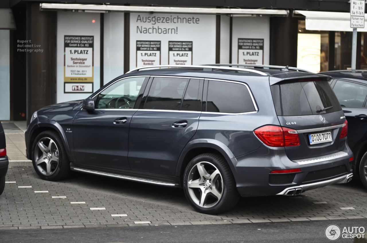 mercedes benz gl 63 amg x166 28 december 2012 autogespot. Black Bedroom Furniture Sets. Home Design Ideas