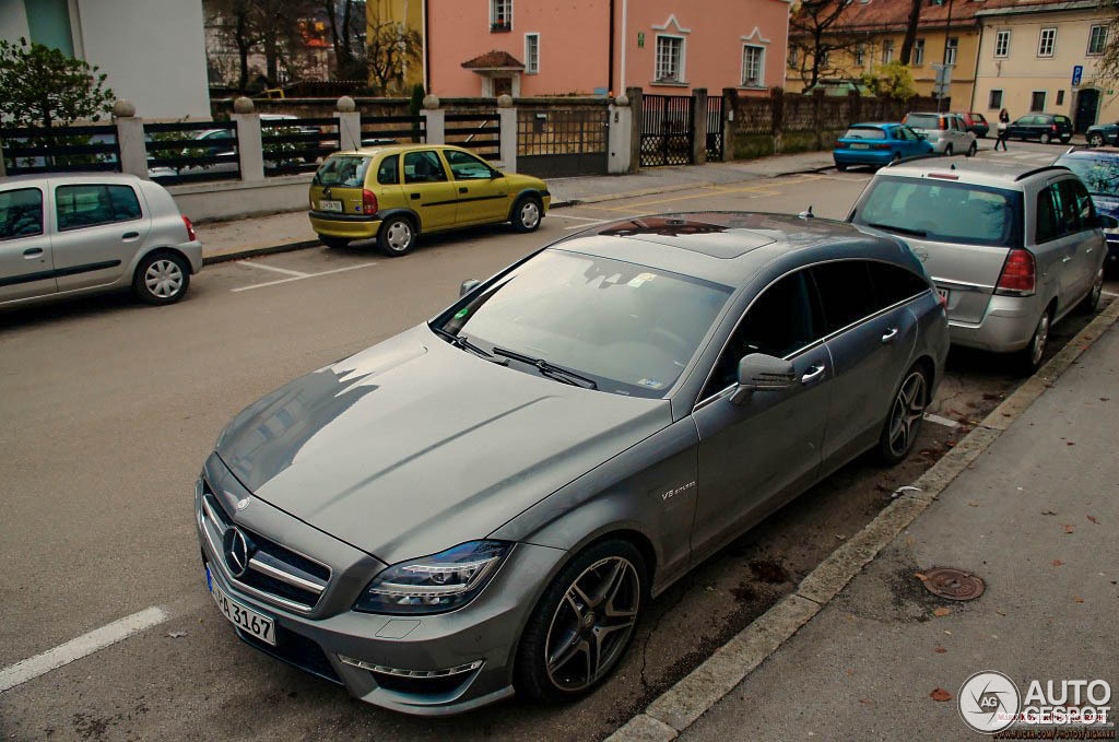 Mercedes Benz Cls 63 Amg X218 Shooting Brake 29 December