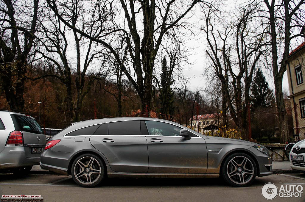 mercedes benz cls 63 amg x218 shooting brake 29 december 2012 autogespot. Black Bedroom Furniture Sets. Home Design Ideas