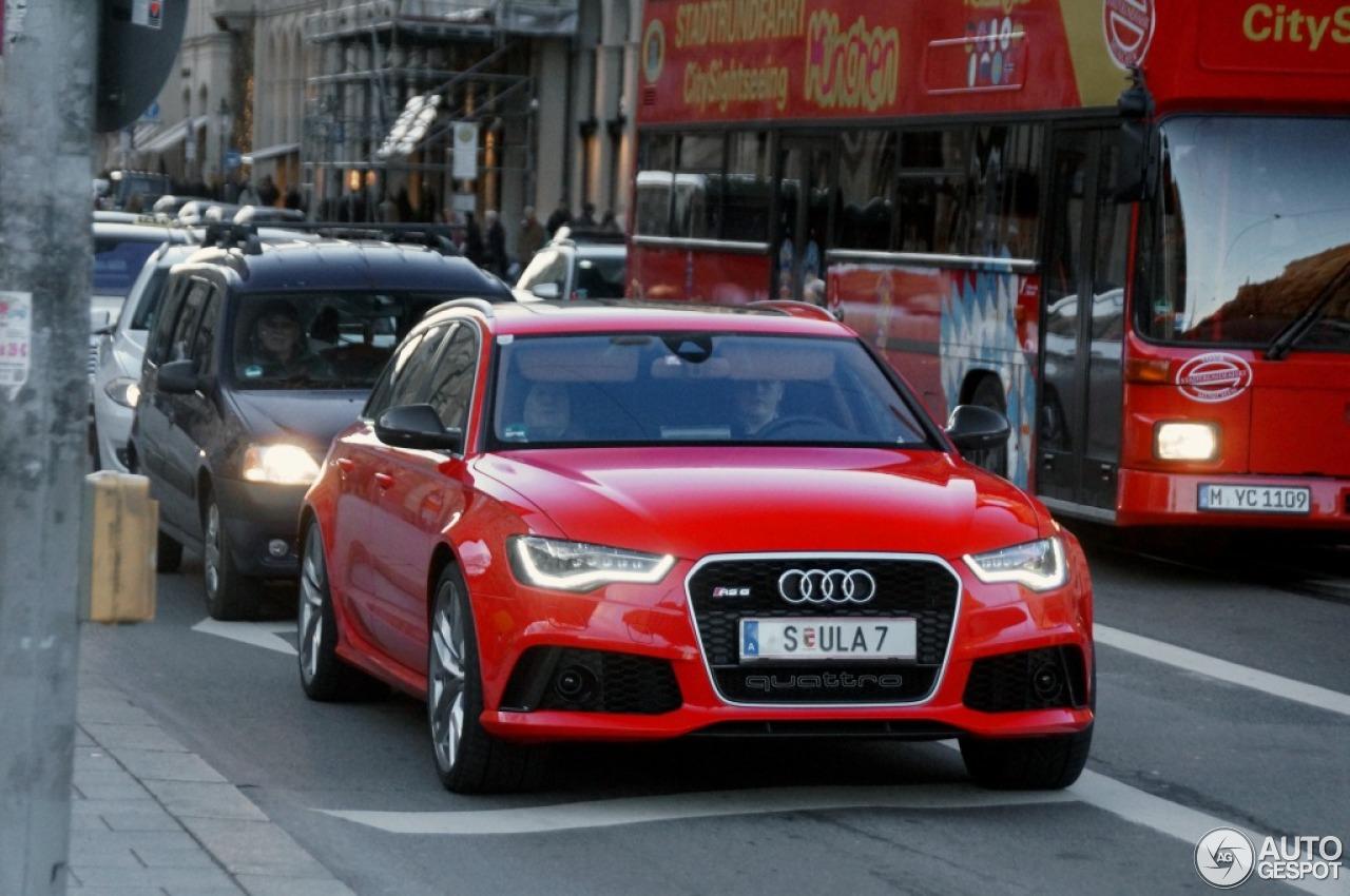 Audi Rs6 Avant C7 30 Grudzie 2012 Autogespot
