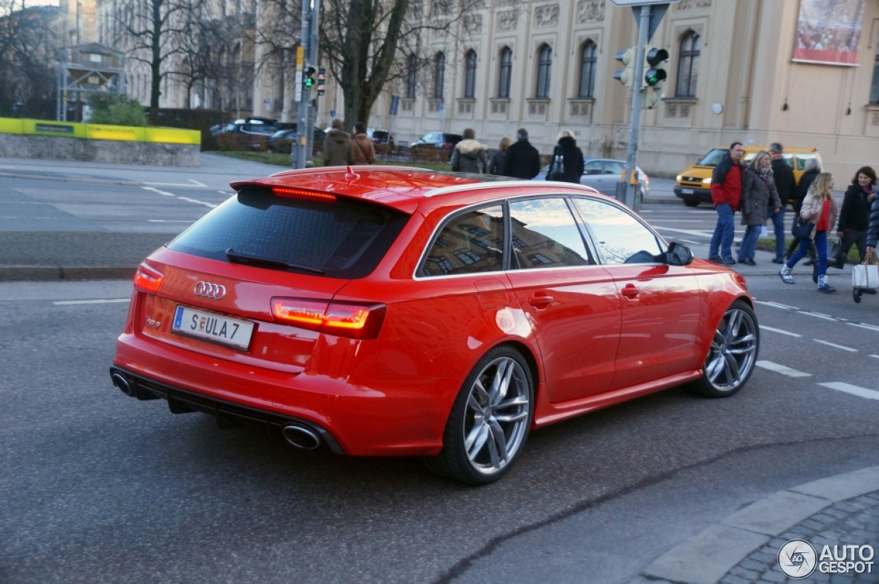 audi rs6 avant c7 30 december 2012 autogespot. Black Bedroom Furniture Sets. Home Design Ideas