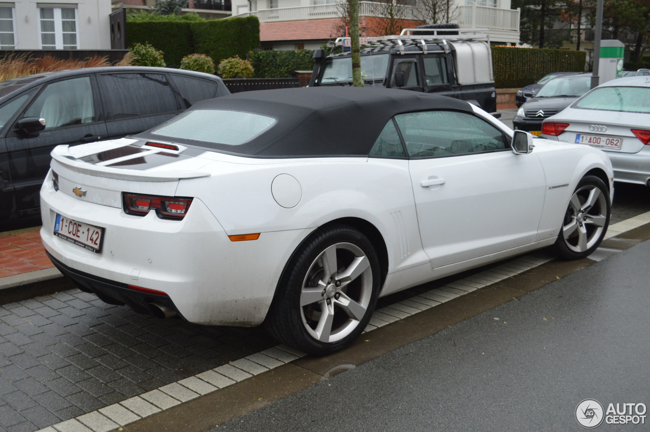 chevrolet camaro ss convertible 30 december 2012 autogespot. Black Bedroom Furniture Sets. Home Design Ideas