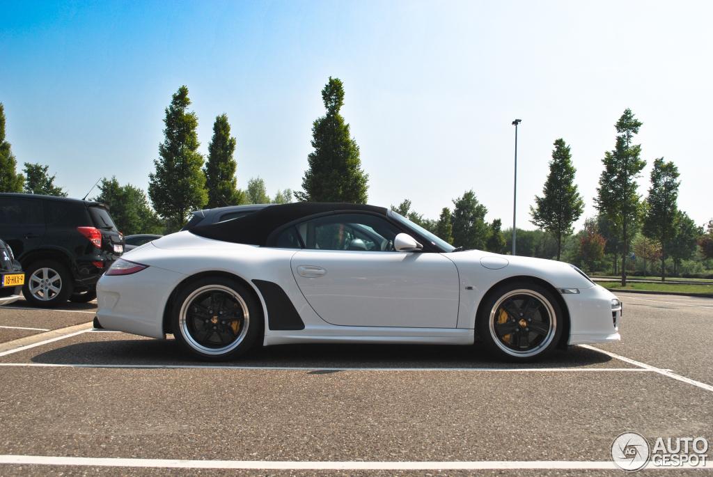 Porsche 997 Speedster 24 Janvier 2012 Autogespot