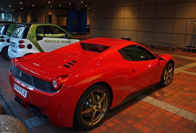 Ferrari 458 Spider