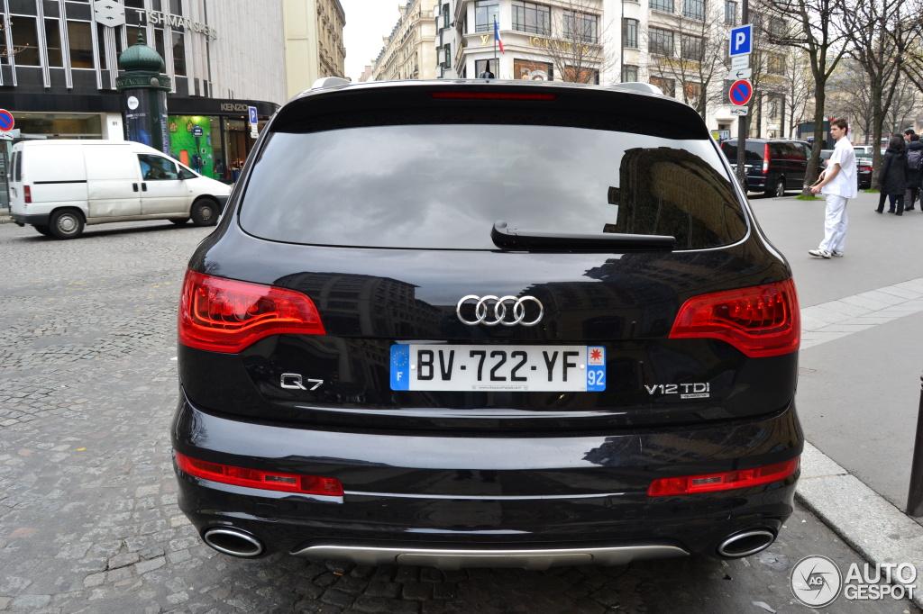 Audi Q7 V12 Tdi 19 Mars 2012 Autogespot