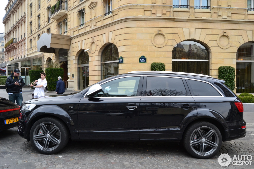 audi q7 v12 tdi 19 mars 2012 autogespot. Black Bedroom Furniture Sets. Home Design Ideas